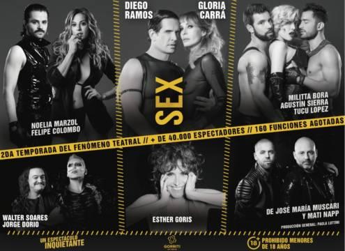 Sex, viví tu experiencia de José María Muscari - Alternativa Teatral